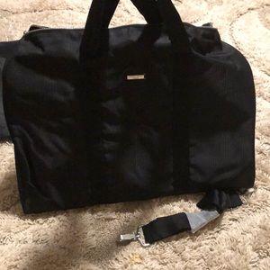 90c8442a3866 Giorgio Armani black duffel bag